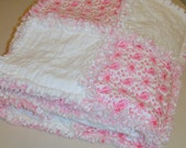 Ragamuffin Rag Quilt Throw 50 x 60 Custom Order