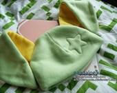 Green Star Bunny Hat