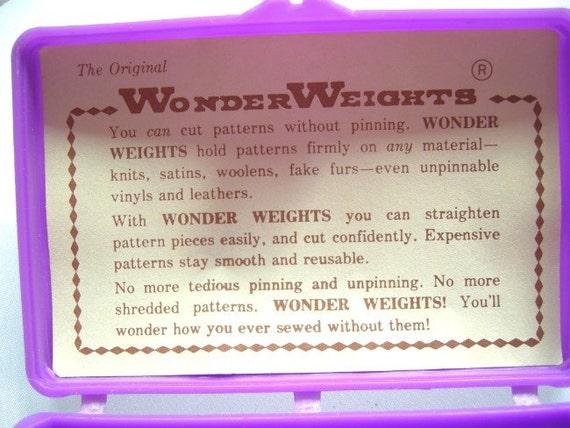 Wonder Weights Sewing