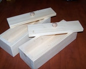 2 Wood wooden soap mold to make 2-3 lb loaf