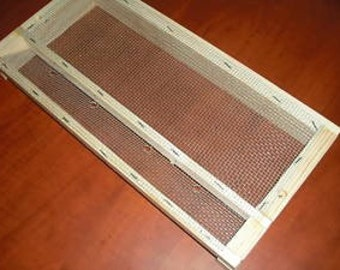 beekeeping bee keeping bee hive moving screen