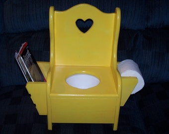 Potty Training Chair with heart a lot of colors