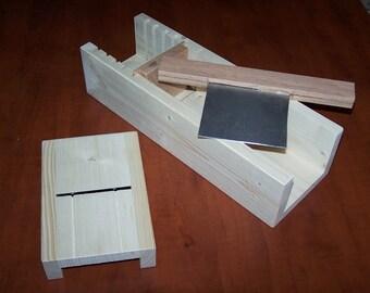 wood soap loaf cutter and beveler