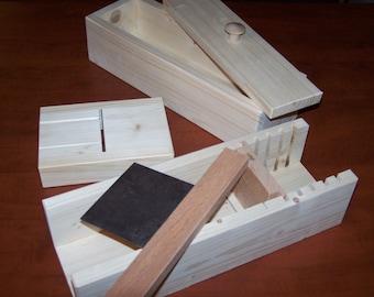 Wood wooden soap mold cutter / slicer beveler planer