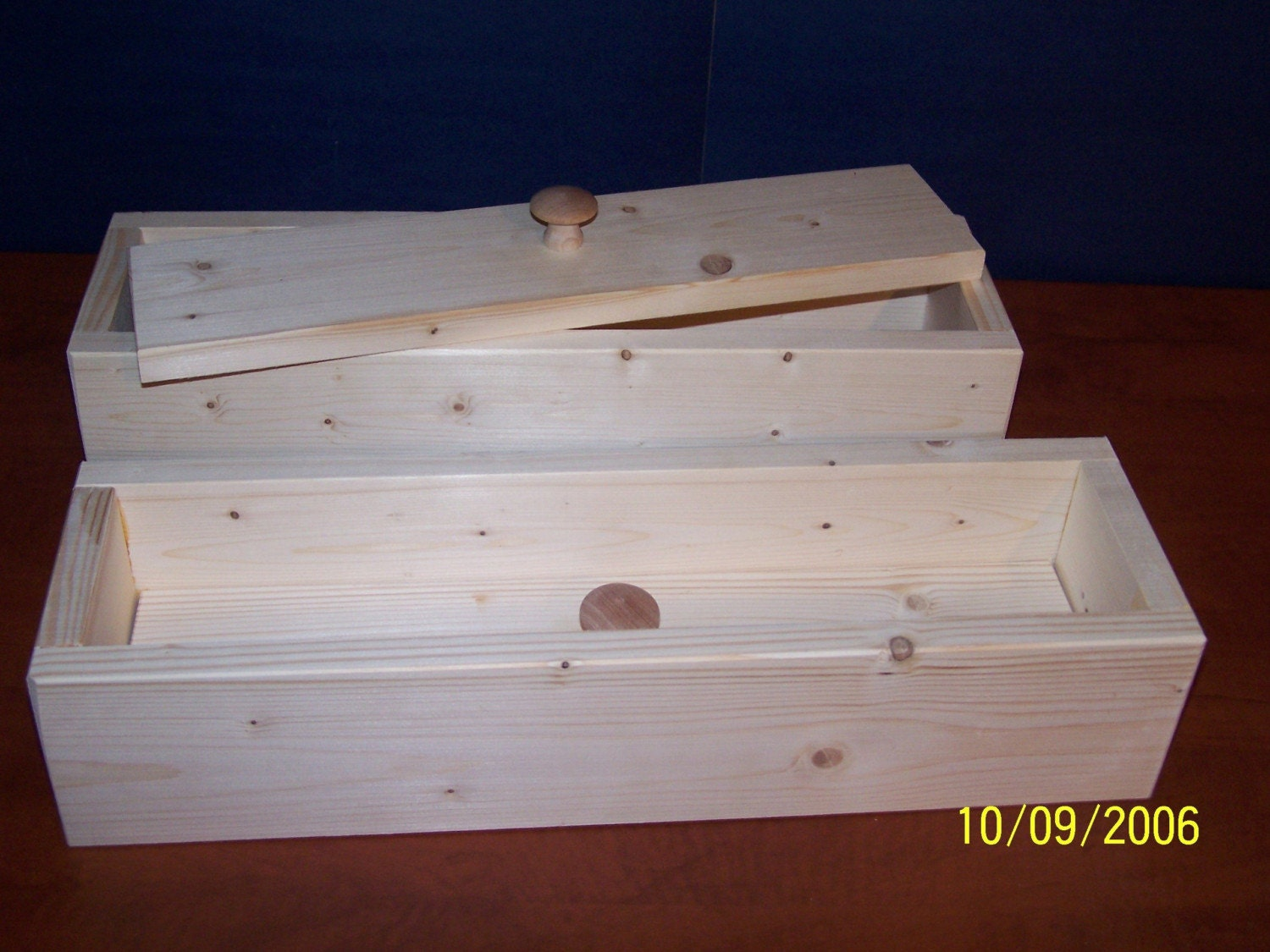 A Lot Or 2 Wood Wooden Soap Mold To Make 4-5lb Loaf
