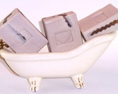 Gold Handmade Artisan Soap Sandalwood Musk Amber Vanilla