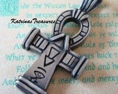 ANKHS CROSS Pendant, Ancient Egyptian Symbol Of Everlasting Life, Ships From USA, Just Add A Chain, Nice Weight