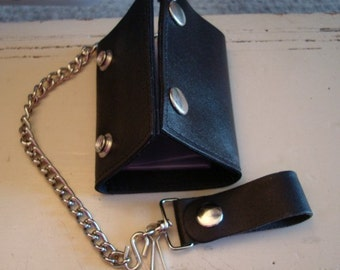 GENUINE LEATHER BILLFOLD, Made In The United States of America, Great Supply To Add Embellishments