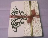 Pretty Handmade Lantern Keepsake Card