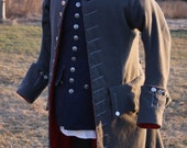 1760 Wool Frock Coat - Made to Order