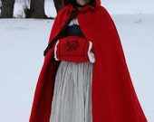 18th Century Broadcloth Cloak - Made To Order
