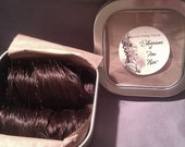 18th Century Set of 2 Curls Clip In- Chestnut Brown - Ready To GO