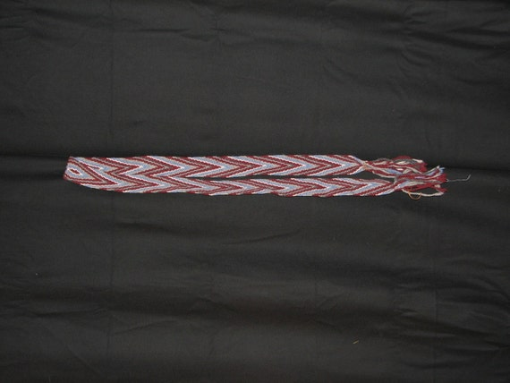 18th Century Wool Loomed Woven Sash- Ready to GO