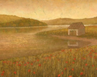 Lakeland Meadows II, Original Landscape Painting