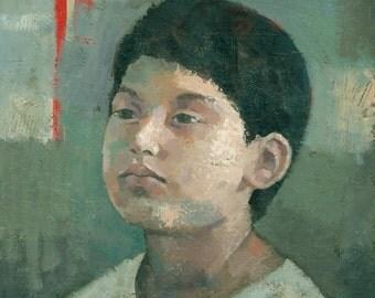 The Lost Prince, Original Portrait Painting