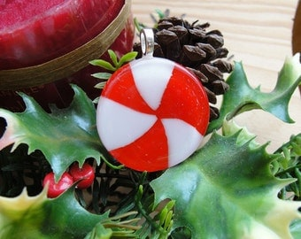 Peppermint Candy Pendant