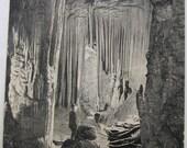 Vintage Postcard Luray Caverns, Va