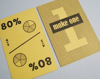 Vintage Fractions Flash Cards - Set of 10 - Mathematics, Learning