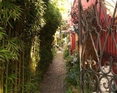 Alleyway, Carmel-by-the-Sea (8.5 x 11 inch photograph)
