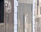 Doors, Rialto Bridge, Venice (8.5 x 11 inch photograph)