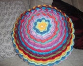 Big Blooms cushion