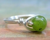 Gorgeously Green Ring - Any Size