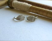 Leaf Ring - Reclaimed Sterling Silver