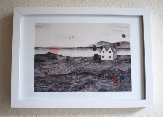 Icelandic Landscape- Giclee print