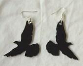 black DOVE earrings