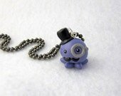 Custom Color Gentleman Octopus Ball Chain Necklace