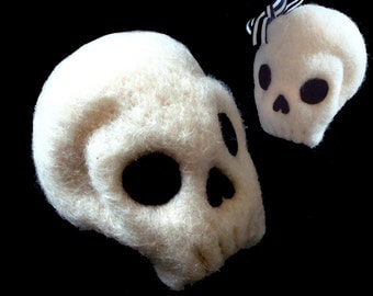 Skulls Needle Felting Kit