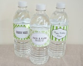 Water Bottle Labels - PRINTABLE only