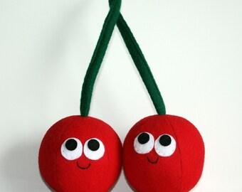Cherries - Plush Food