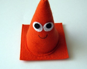 Safety Cone Pylon - Plush