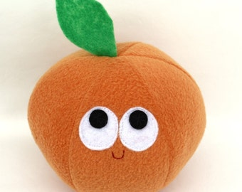 Navel Orange - Plush Food