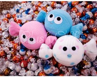 Candy Balls Postcard - 2011 Edition