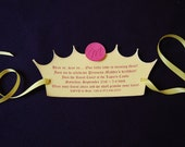 RESERVED Princess Invitation - Qty 40