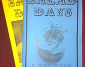 Salad Days Vegan Cooking Zine, Issues 1 and 2