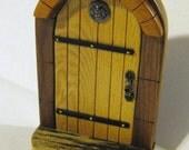 Fairy Door Made Of Four Woods