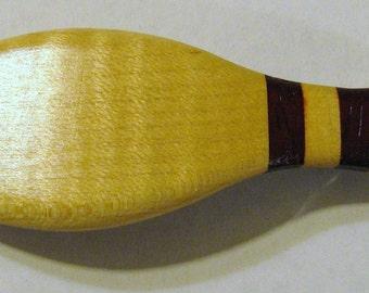 Bowling Pin Hair Clip Wooden
