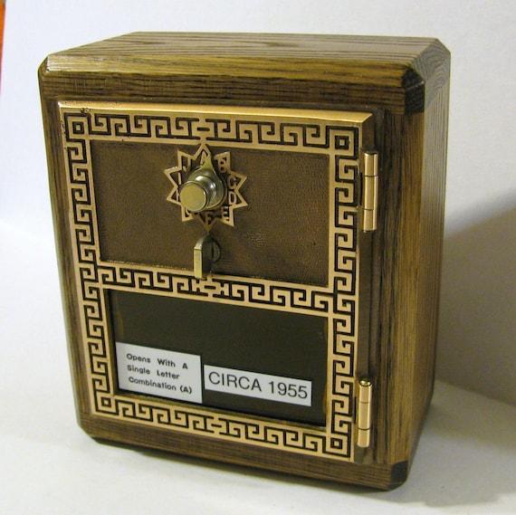 Post Office Box Door Key Safe, CIRCA 1955 Door Combination Lock