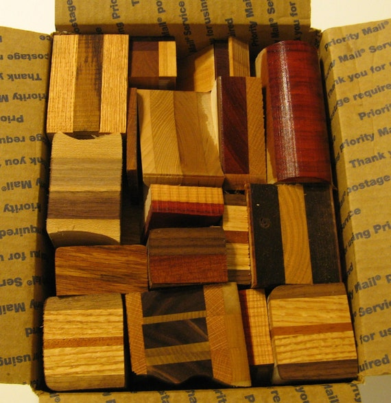 Laminated Wood Blocks For Crafts