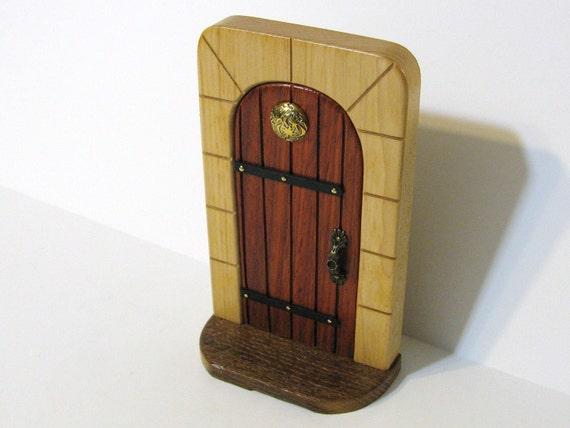 Fairy Door Made Of Three Woods