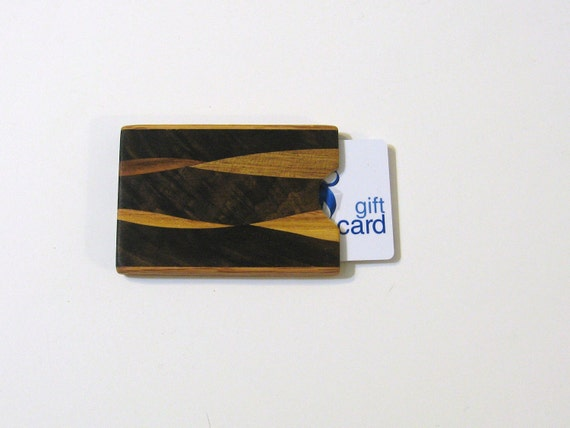 Gift card Or Cash Presentation Box Made of Wood