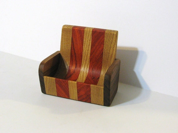 Cell Phone Rest For Home Or Office Made Of Exotic Woods
