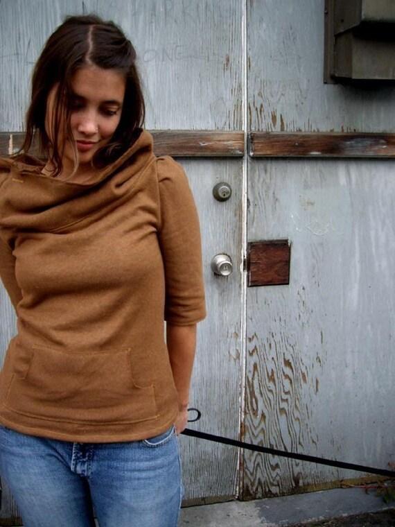SALE Bratislava Sweater Brown-Organic Cotton\/Hemp