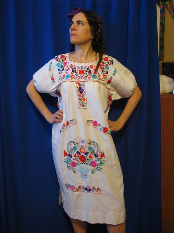 Vintage winter chill sale frida kahlo boho revival mexican for Mexican wedding dresses for sale