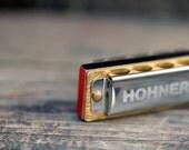 Little lady harmonica necklace sparkle chain No.9