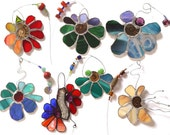 A Stained Glass Flower Every Month - Subscription for a YEAR