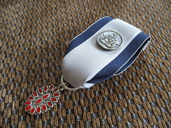Spectenur Agendo- Steampunk Medal - Double Ribbon